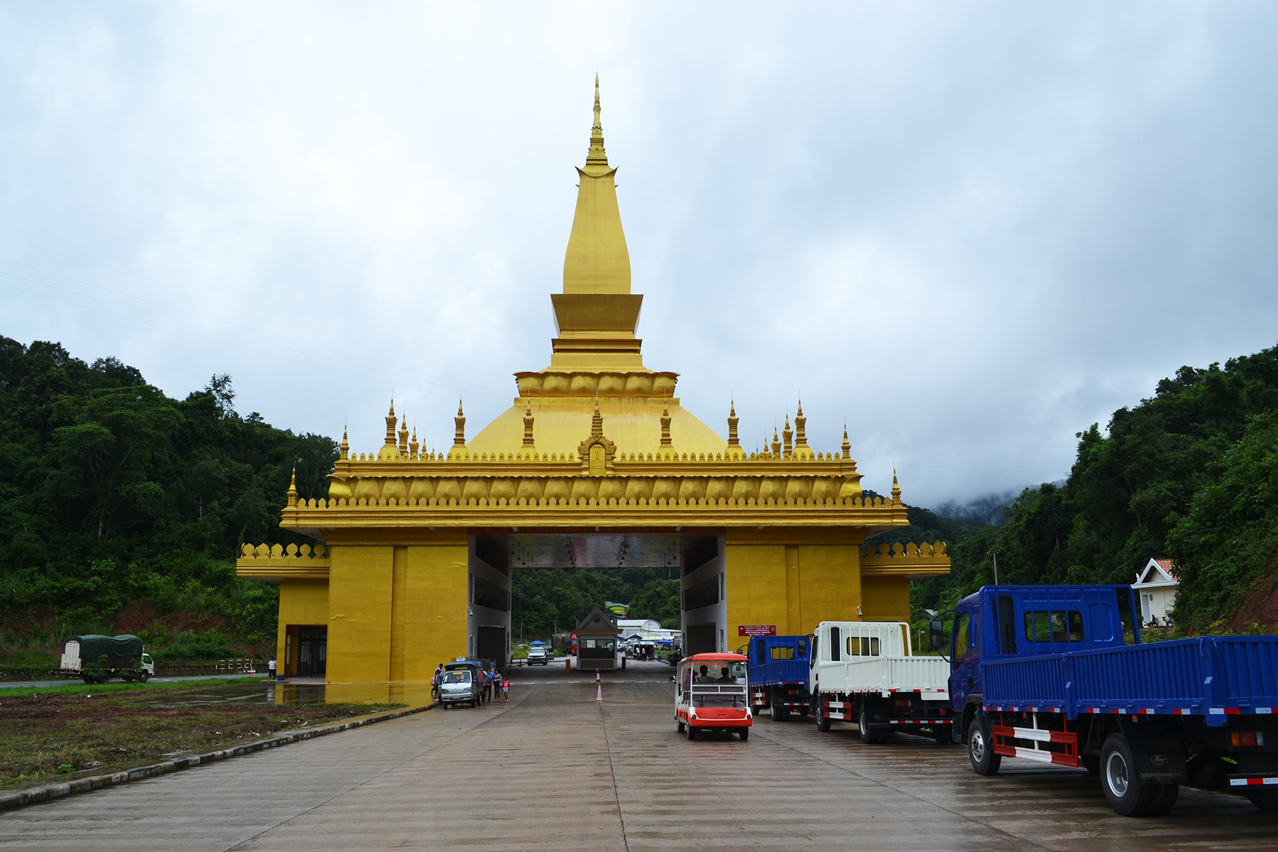 Visa & Border in Luang Namtha, Laos